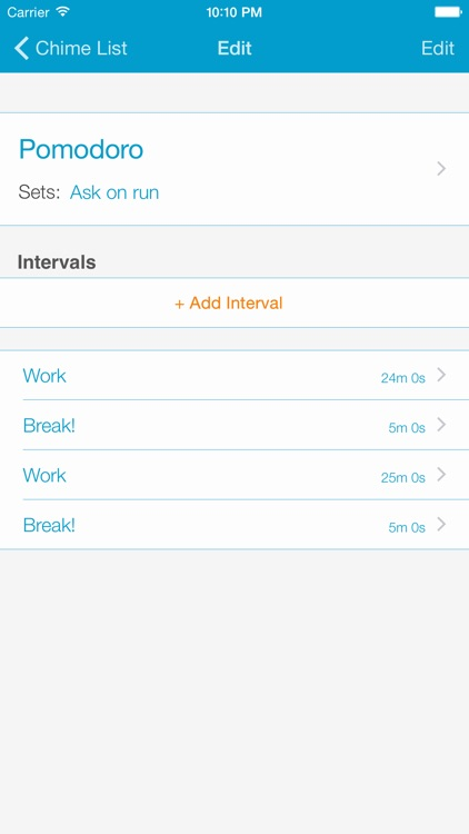 Chime Squirrel - Recurring chime / alarm / timer to help you be more productive screenshot-3