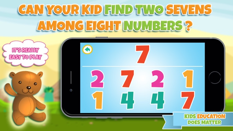 Learn numbers - Educational game for toddler kids & preschool children screenshot-3