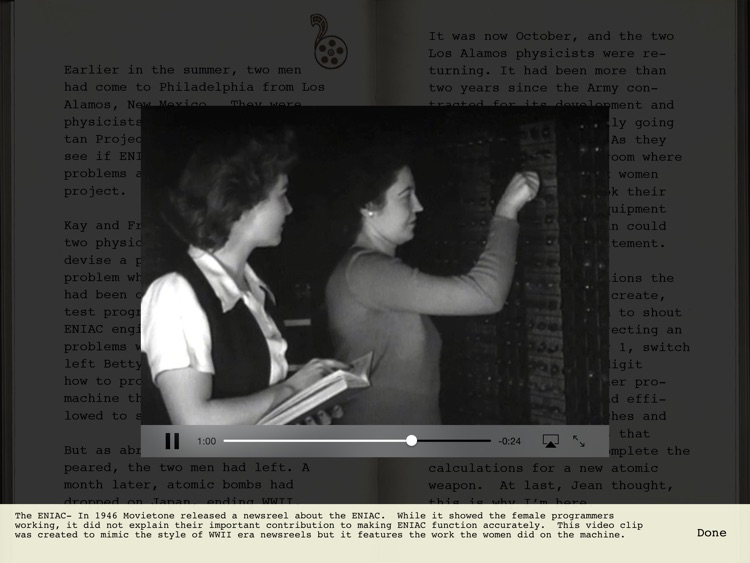 The Computer Wore Heels: The Female Mathematicians of WWII screenshot-3