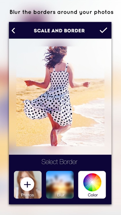Blur Border - Blur Background Effect and No Crop Photo Editor for Instagram