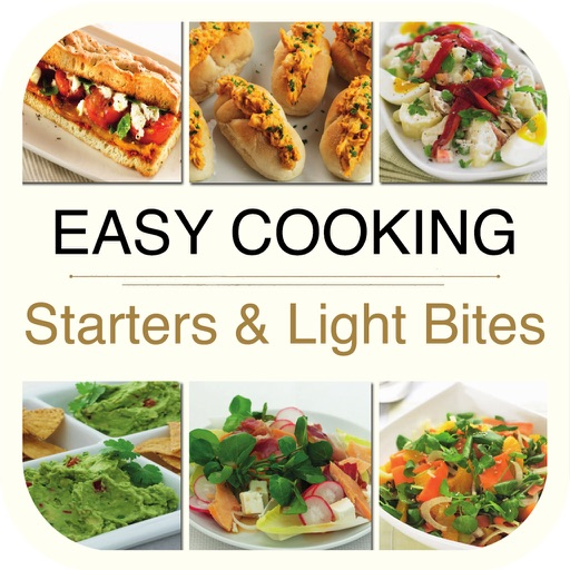 Easy Cooking - Starters & Light Bites Recipes for iPad