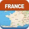 法国离线旅游地图