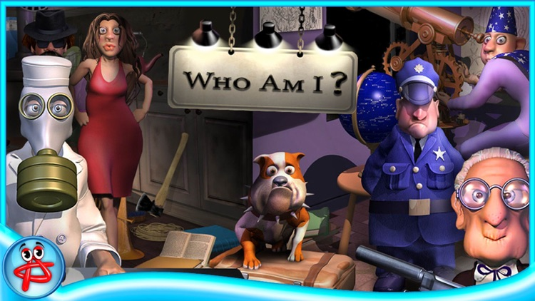 Who Am I: Hidden Object  Adventure Full screenshot-0