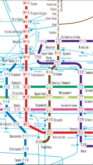 Osaka Travel guide and offline map Kyoto Travel guide sightseeing