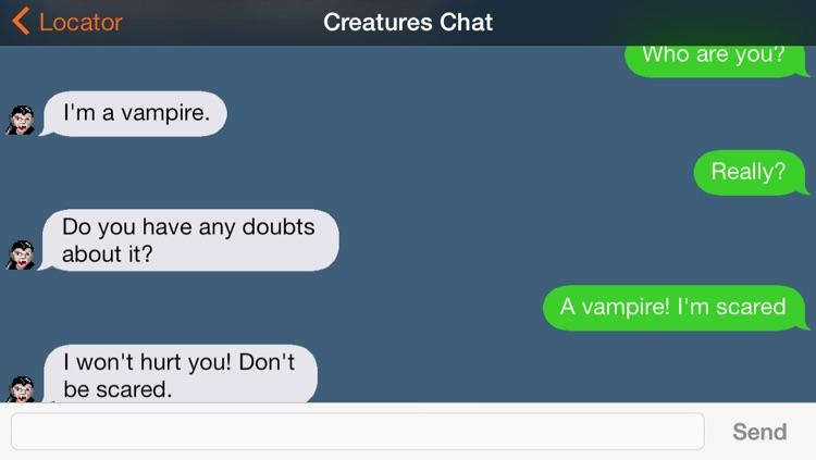 Strange Creature Locator screenshot-4
