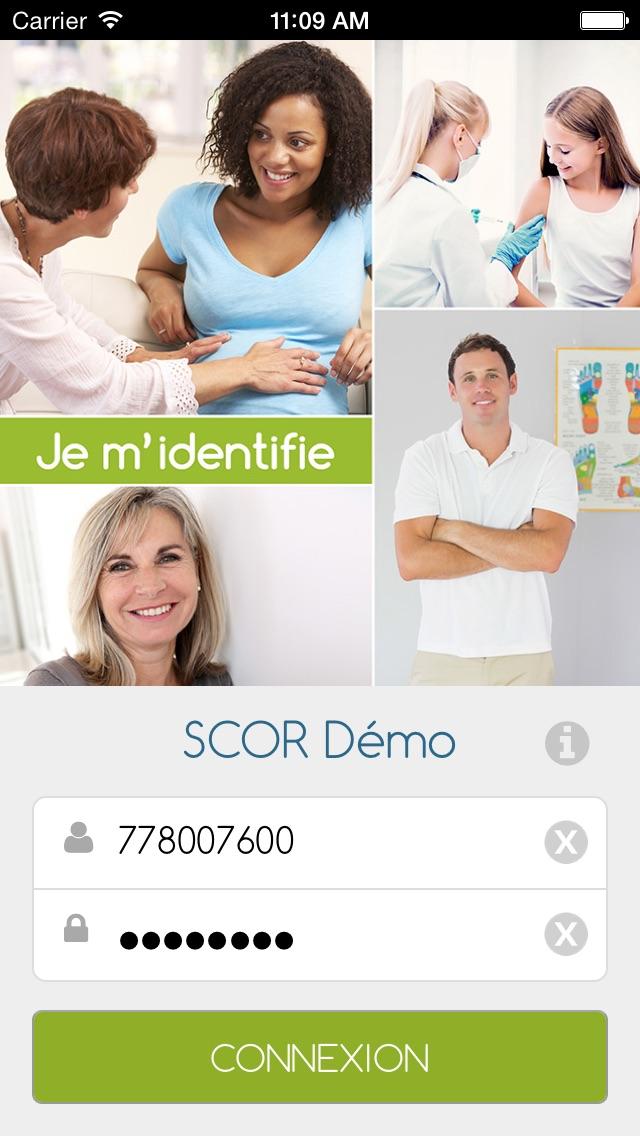 Intellio SCOR Démo Screenshot