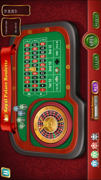 Royal Palace Roulette - Free edition