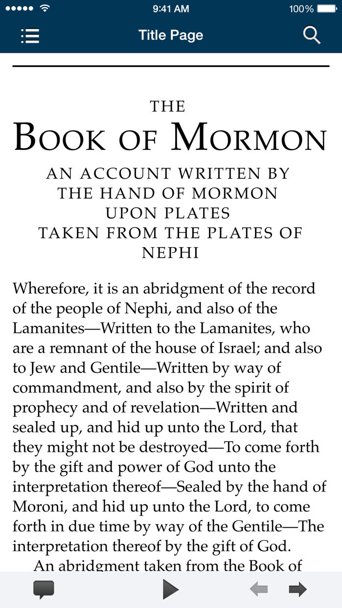 The Book of Mormon: Another Testament of Jesus Christ Screenshot