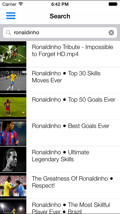 Soccer videos Pro - Highlights and best goals