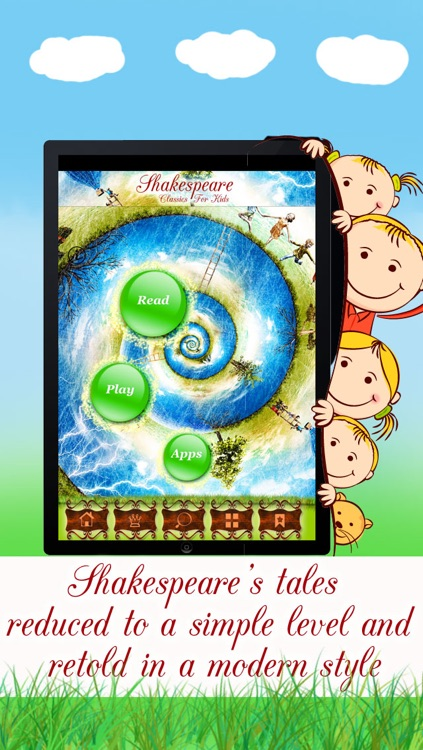 Shakespeare for Kids - Tales, Plays and Stories Retold in a Simple Style screenshot-3