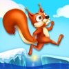 Squirrel Run: Food Dash - Crazy Chase! Kids Ice Age Games