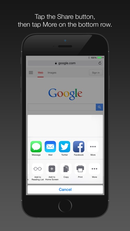 Enable Zoom App Extension
