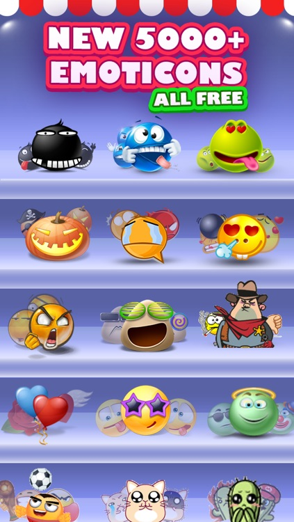Keyboard Pro - 3D Animated Emoji and Cool Fonts screenshot-2
