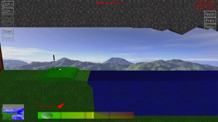 Rocket Golf Lite screenshot-0