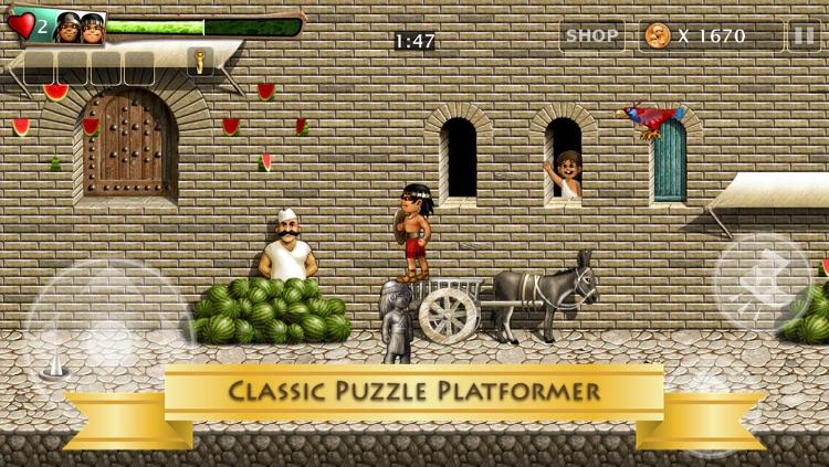 Babylonian Twins (HD Premium) Puzzle Platformer screenshot-3