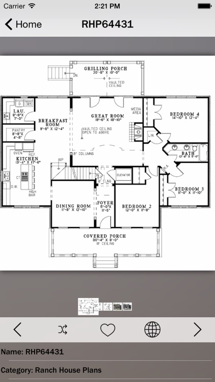 Ranch House Plans Master screenshot-3