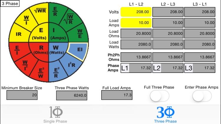 OHMs Law Calc screenshot-3
