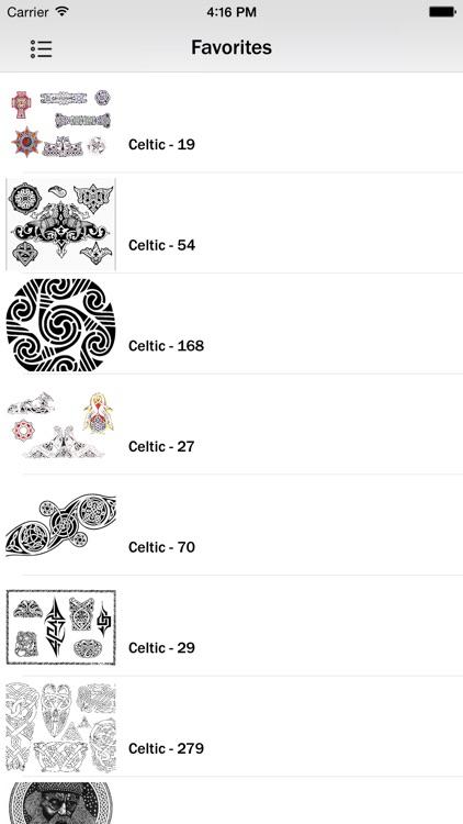 Celtic Tattoos Guide screenshot-4