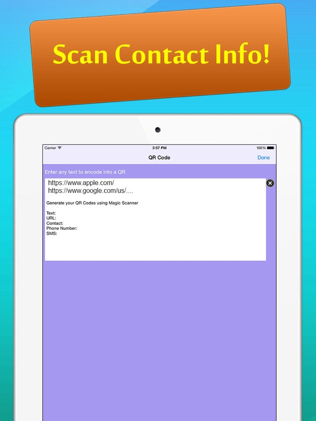 Magic Scanner - QR Code and Barcode Reader & Generate Your