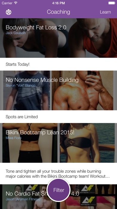 Fitocracy - Fitness Collective Screenshot