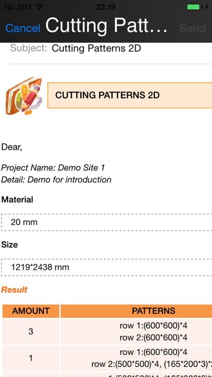 carpenter cutting pattern optimizer 2-dimension