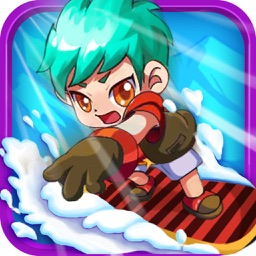 3D Ski Racing-Super Jumper Rush