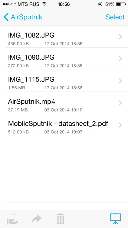 AirSputnik - Show & share photos and files wirelessly with mobile devices and PCs