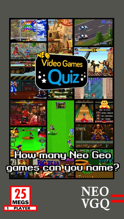 Video Games Quiz - Neo Geo Edition