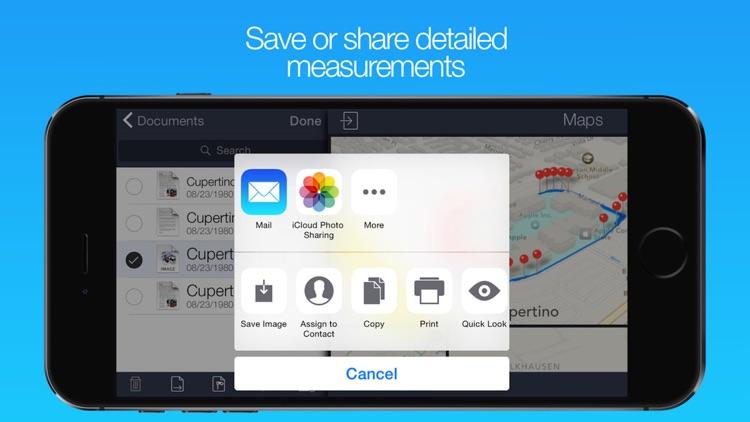 iMap Measure screenshot-3