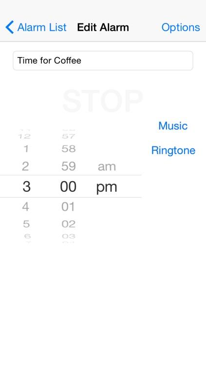 Musik Alarm Clock screenshot-3