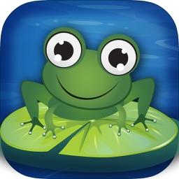 Amazing Frog Lilypad Jump Free