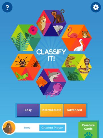 Classify It! screenshot