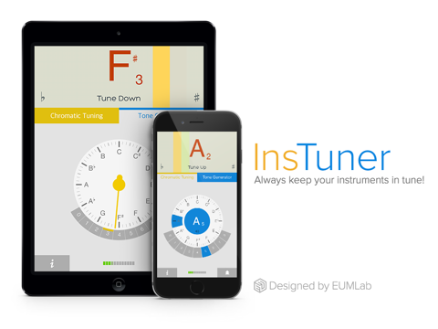 insTuner Free - Chromatic Tuner screenshot