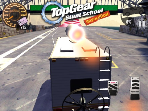 Скачать игру Top Gear: Stunt School Revolution