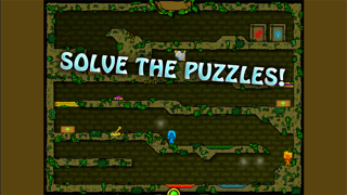 Fireboy & Watergirl 2 - The Forest Temple screenshot four