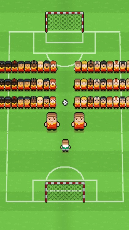 Big football superstar (Impossible Challenge Blocky Racing Pixel Soccer Games)