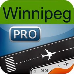 Winnipeg Airport HD + Flight Tracker Premium air YWG Canada