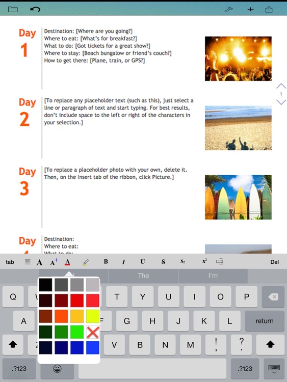 WDocs - Microsoft Office Word doc docx Edition & Open Office Document Edition screenshot-3