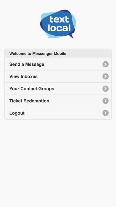 Textlocal Messenger screenshot two