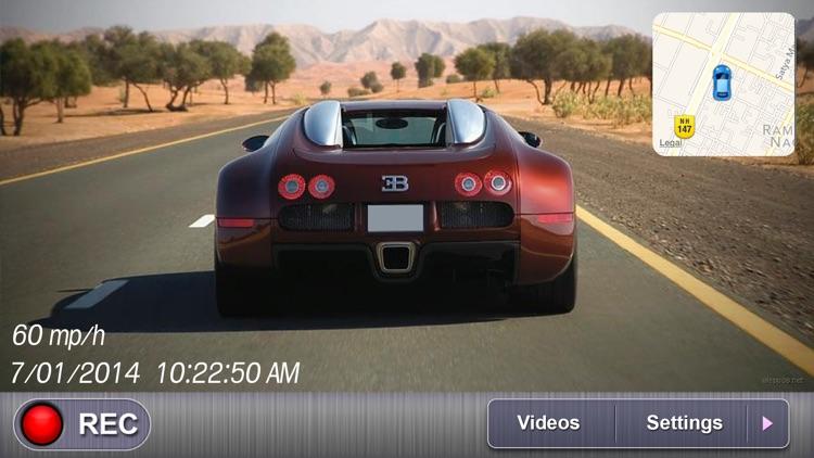 Car Camera DVR Lite - Black Box DVR HD - Car Driving Recorder