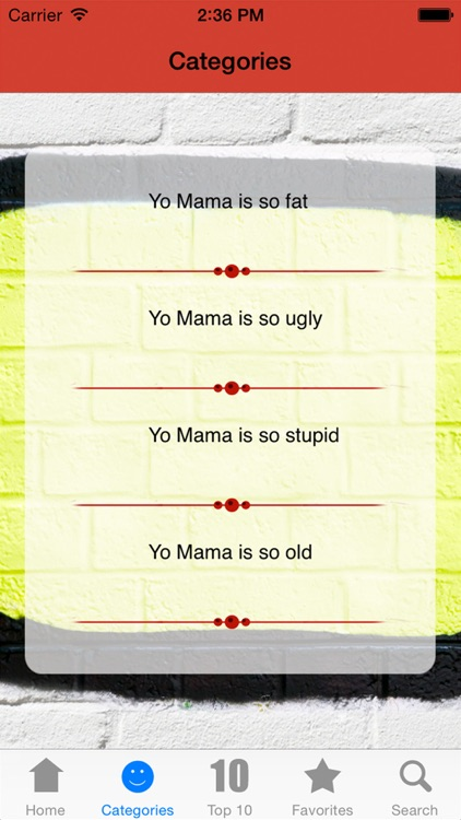 Yo Mama - The Best Ones