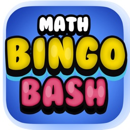 Math Bingo Bash - Basic Addition, Subtraction, Multiplication and Division Game for 2nd, 3rd, 4th &5th Grade