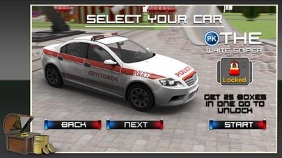 3D警察カーレーススタント - クレイジーシミュレーターに乗るとシミュレーションアドベンチャーのスクリーンショット5