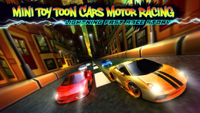 A Mini Toy Toon 3D Car Motor Racing Lightning Fast Auto Race