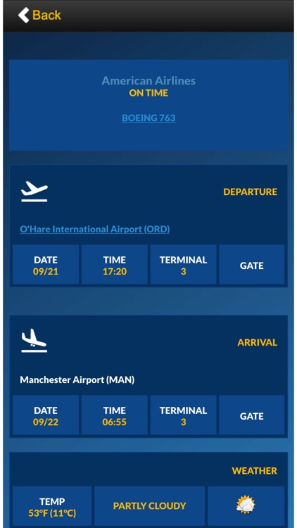 Airport Board : Live flight info and tracker