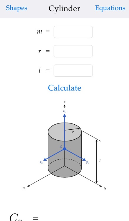 Moment of Inertia Calculator screenshot-3