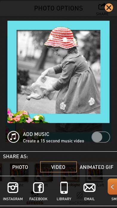 PopAGraph Screenshot on iOS