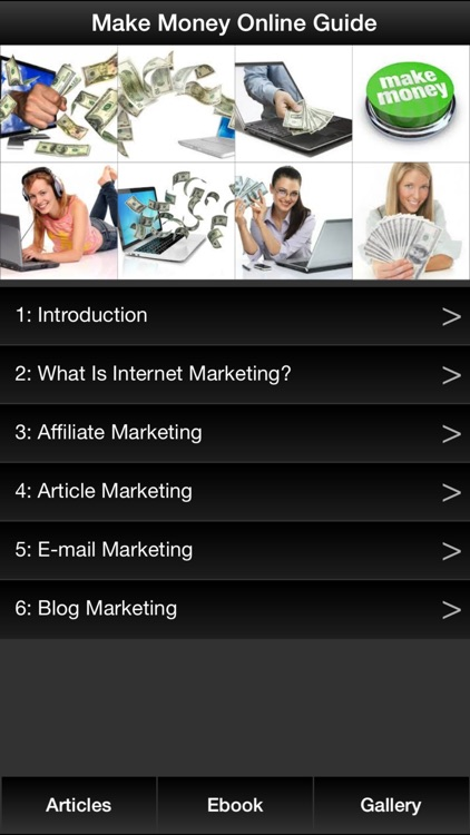 Make Money Online Guide - Learn How to Make Money Online By Internet Marketing
