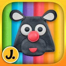 Imagination Box - creative fun with play dough colors, shapes, numbers and letters