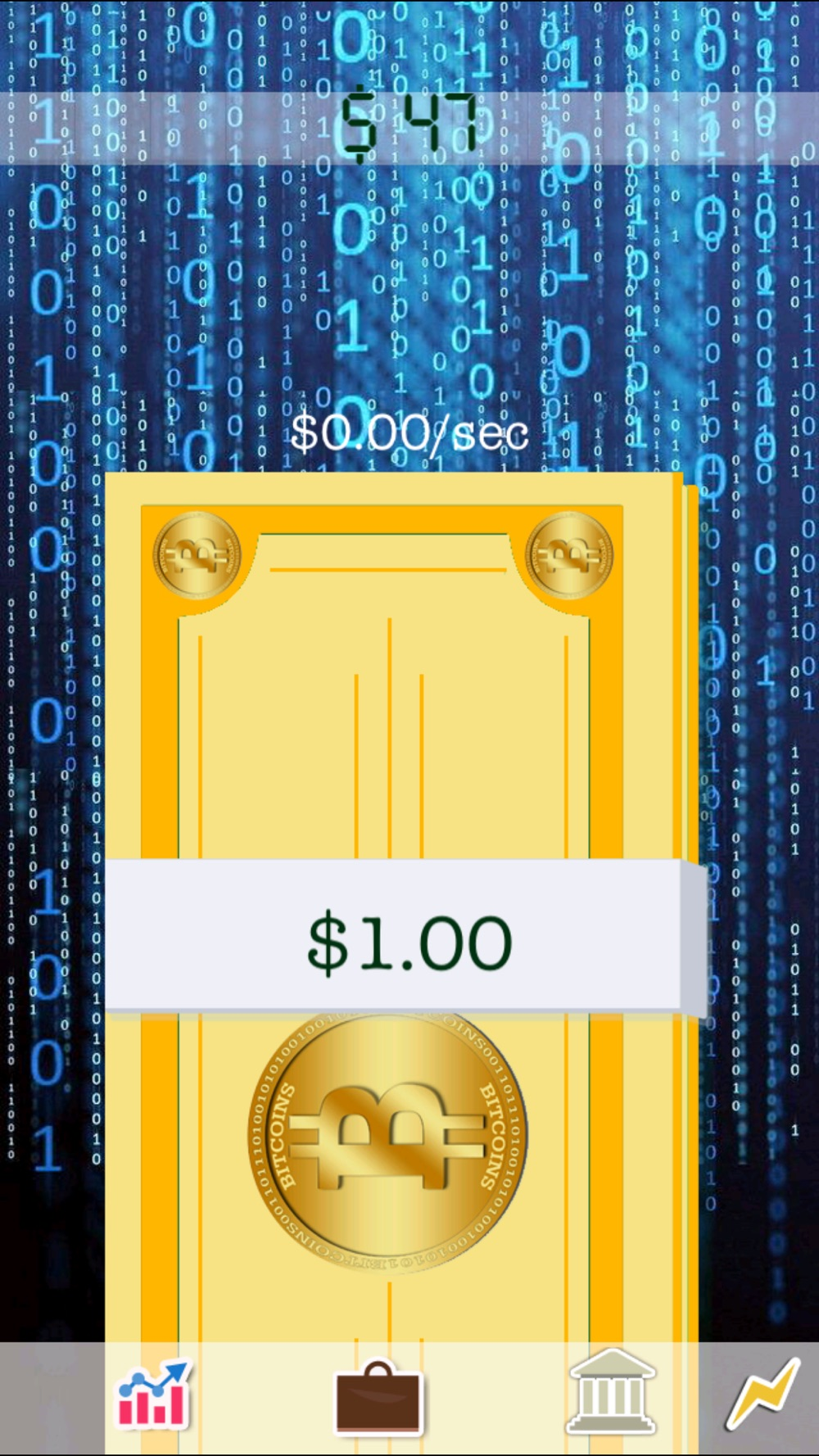 Make it Rain Bitcoins – Become the First Bitcoin Billionaire!